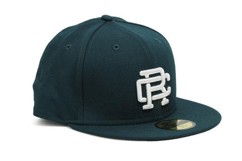 COURT GREEN WOVEN NEW ERA RC EMBROIDERED HAT - RC-7052