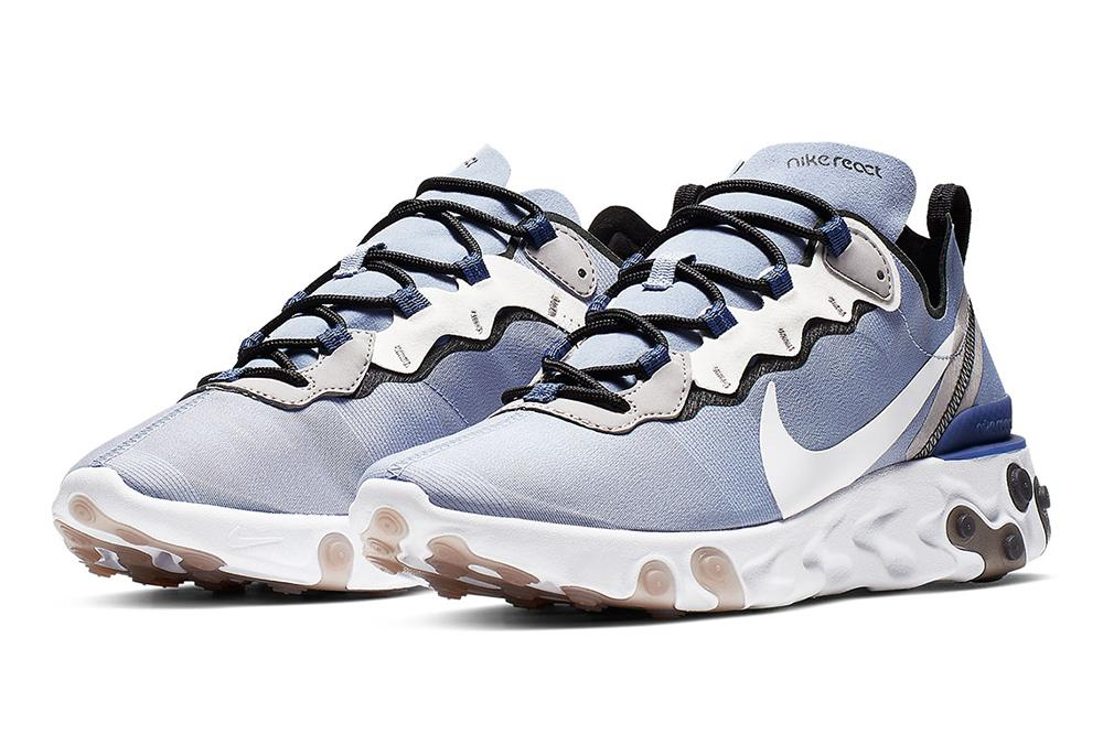 NIKE REACT ELEMENT 55 - BQ6166-402 MENS FOOTWEAR NIKE