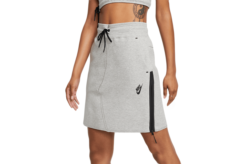 NIKE SPORTSWEAR TECH FLEECE SKIRT - BV3390-063 WOMENS SOFTGOODS NIKE