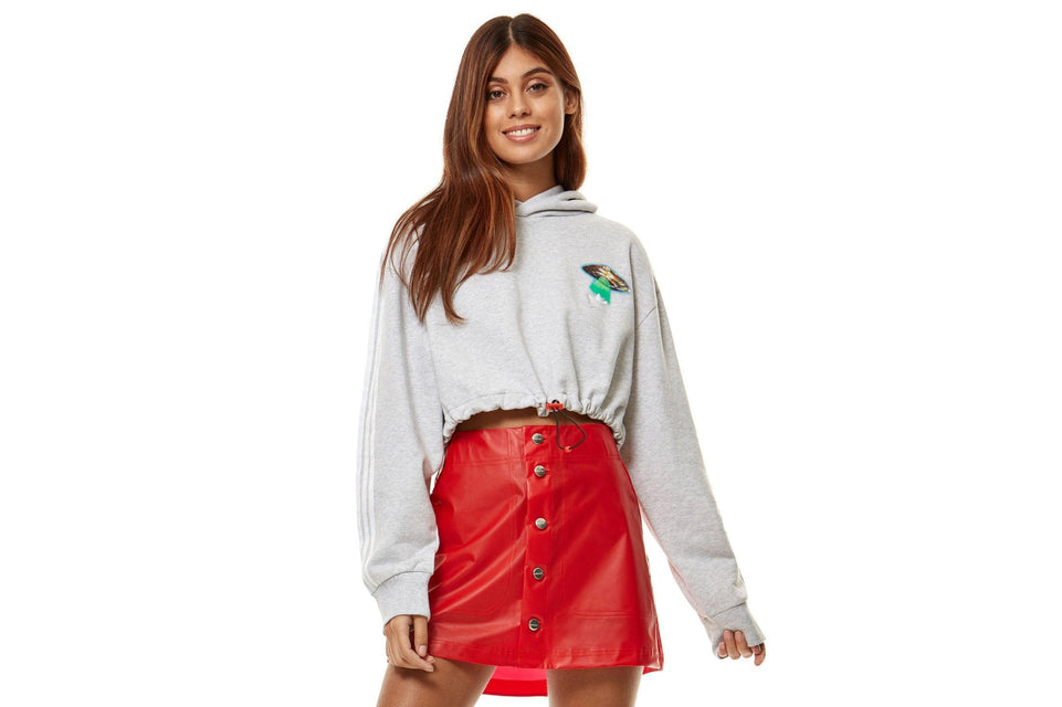 FIORUCCI CROPPED HOODIE - EC5758 WOMENS SOFTGOODS ADIDAS