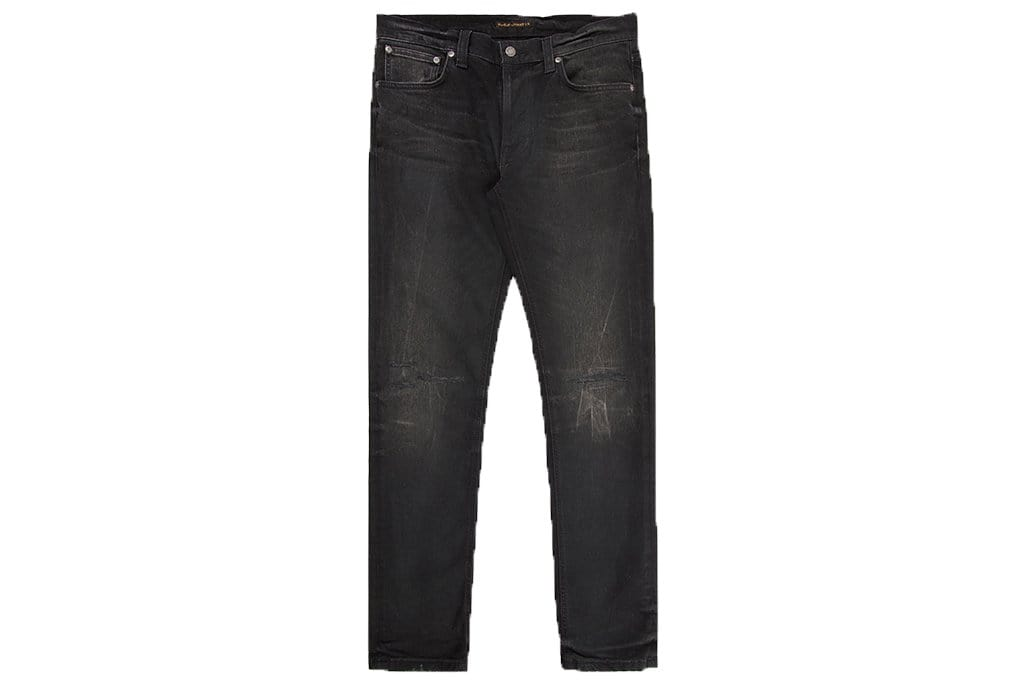 LEAN DEAN JOHAN REPLICA MENS SOFTGOODS NUDIE JEANS BLACK 29/32 112535