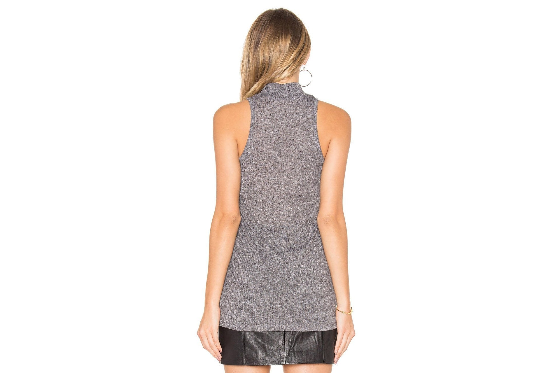 WESTLING MOCK NECK TANK WOMENS SOFTGOODS OBEY