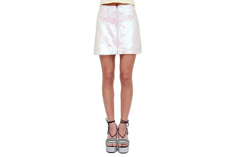 KOOL THING SKIRT WOMENS SOFTGOODS OBEY PINK MULTI 25 411550061.PMU