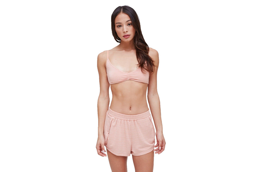 LUNA BRALETTE IN MUTED CLAY/MULTI WOMENS SOFTGOODS OBEY