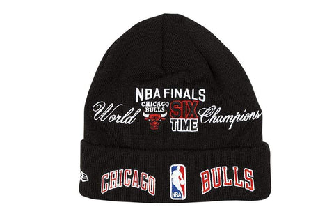 NEW ERA KNIT CHICAGO BULLS CUFF CAP - 12638432