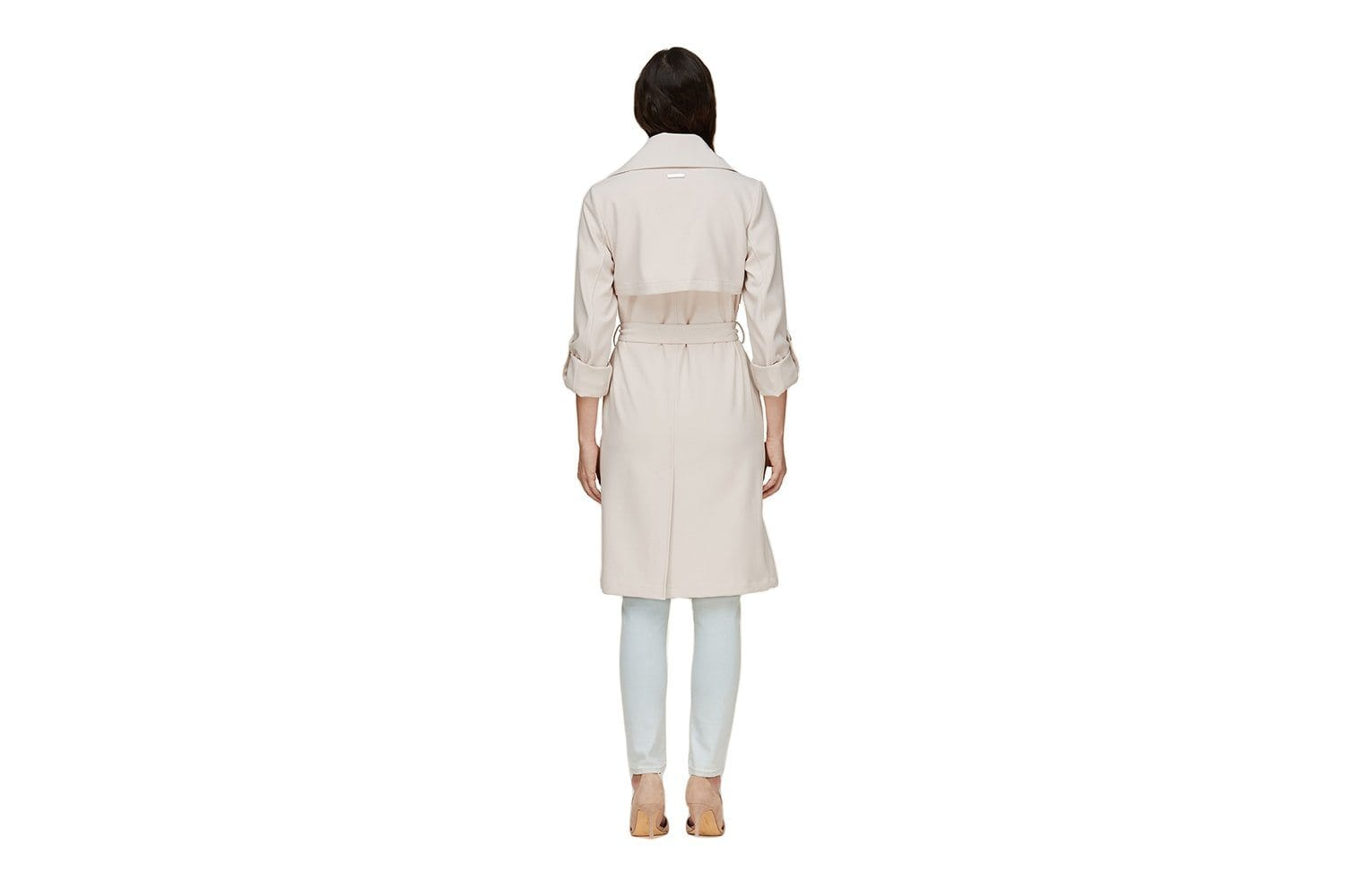ORNELLA - DRAPED TRENCH WOMENS SOFTGOODS SOIA & KYO