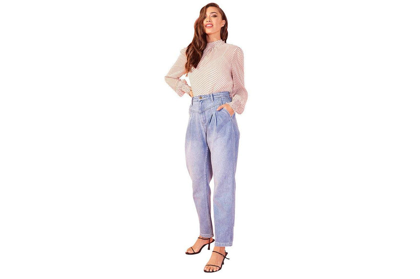 OLLIE TUCK 80'S JEANS - ID20S1934 WOMENS SOFTGOODS MINK PINK