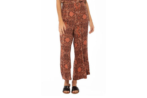 PARADISE WOVEN PANT-A307OPAR WOMENS FOOTWEAR AMUSE SOCIETY