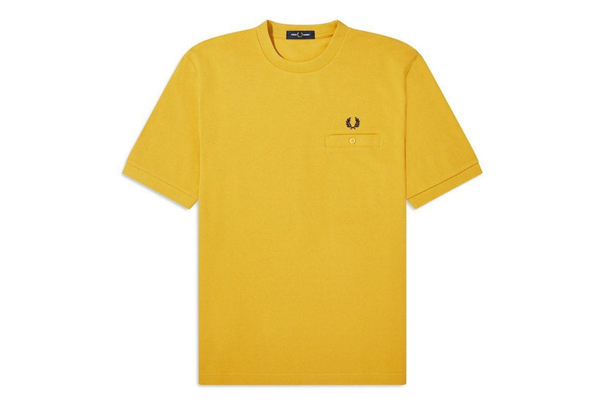 POCKET DETAIL PIQUE SHIRT - M8531 MENS SOFTGOODS FRED PERRY