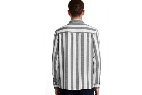 PERRY JUMBO STRIPE L/S SHIRT - M41920PY01