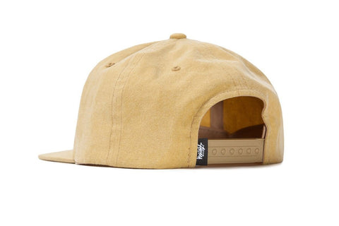 PIGMENT WASHED CANVAS CAP - 131892