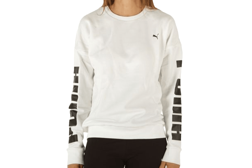 REBEL CREW SWEAT FL - 580511-02 WOMENS SOFTGOODS PUMA