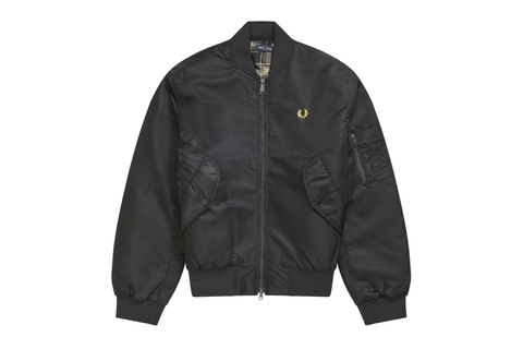 QUILTED BOMBER JACKET - J8518