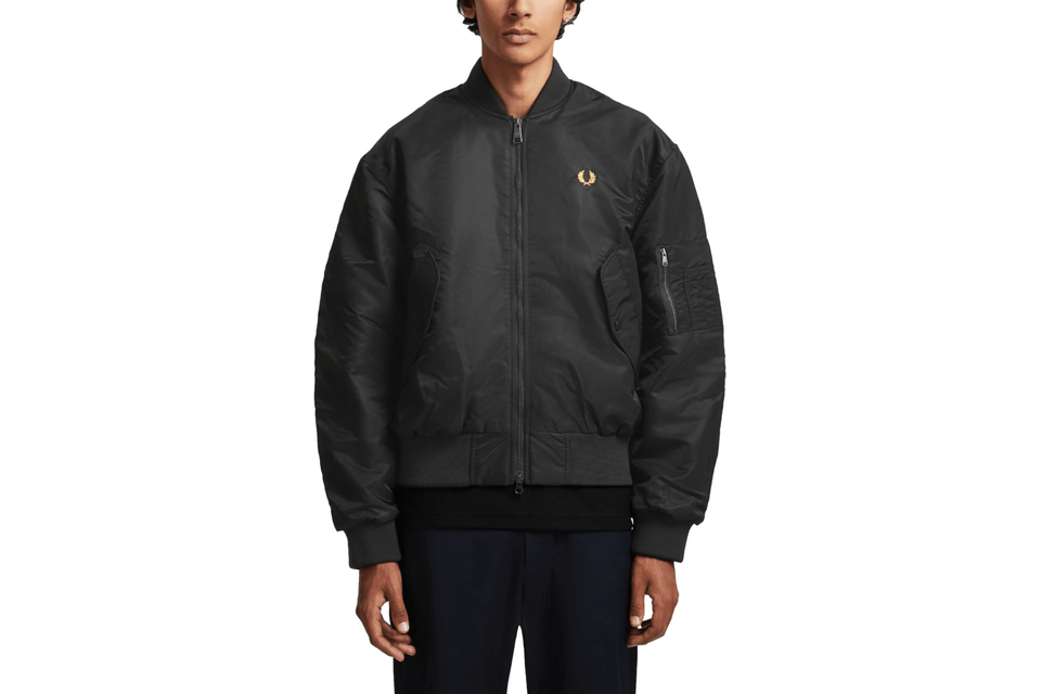 QUILTED BOMBER JACKET - J8518 MENS SOFTGOODS FRED PERRY