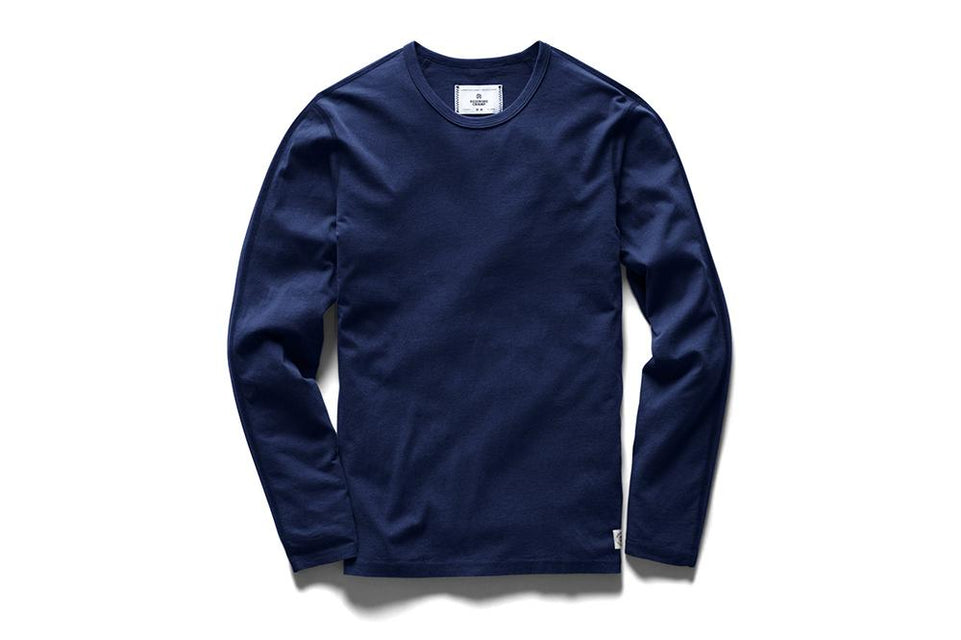 KNIT PIMA JERSEY LONGSLEEVE T-SHIRT - RC-2152 MENS SOFTGOODS REIGNING CHAMP