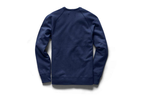 MENS KNIT LIGHTWEIGHT TERRY CREWNECK - RC-3528