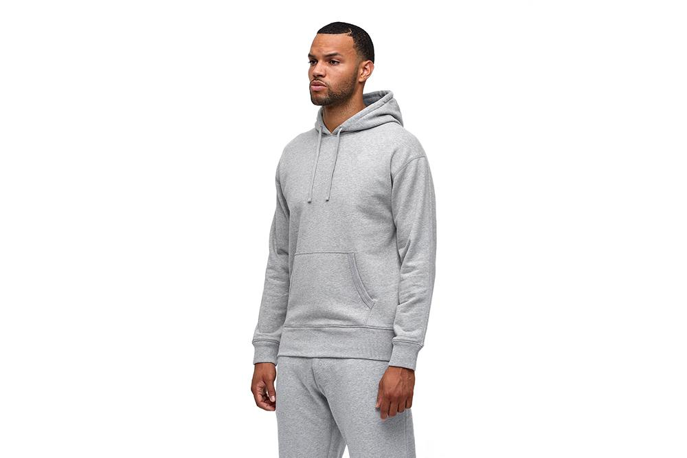MENS KNIT MID WT TERRY RELAXED PULLOVER HOODIE - RC-3664 MENS SOFTGOODS REIGNING CHAMP