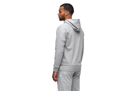 MENS KNIT MID WT TERRY RELAXED PULLOVER HOODIE - RC-3664