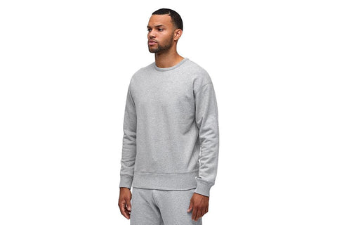 MENS KNIT MID WT TERRY RELAXED CREWNECK - RC-3665