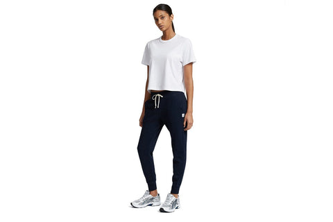 KNIT PIMA TERRY SLIM SWEATPANT NAVY - RC-W5000 WOMENS SOFTGOODS REIGNING CHAMP