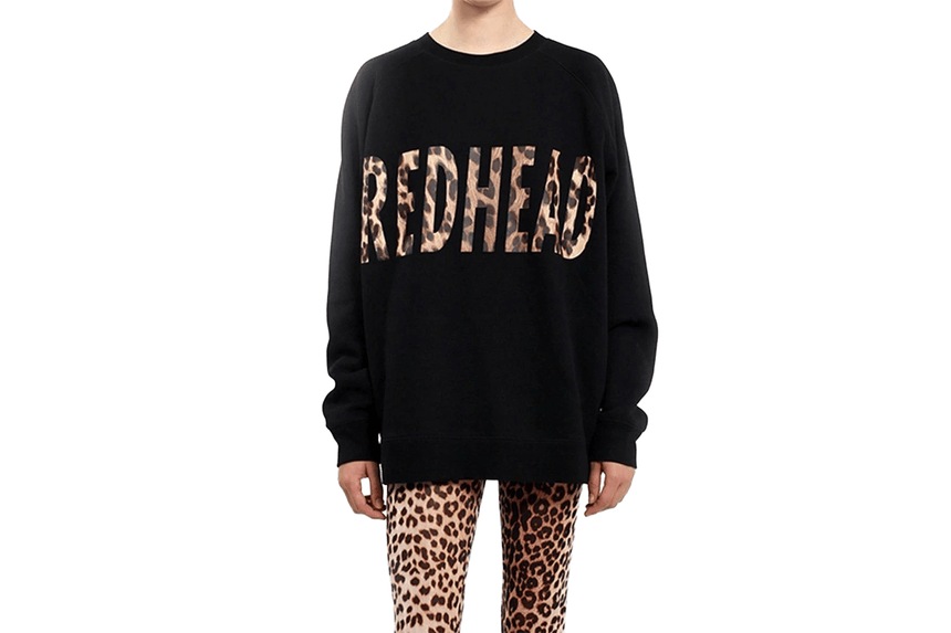 REDHEAD LEO LETTERS BIG SISTER-BTL075RH WOMENS SOFTGOODS BRUNETTE THE LABEL
