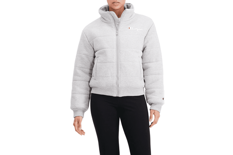 REVERSE WEAVE QUILTED PUFFER JACKET - JL7316 WOMENS SOFTGOODS CHAMPION