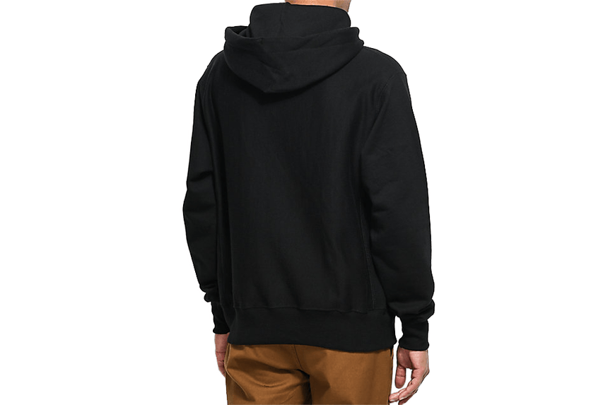 "RW FLEECE PO HOOD ""C"" CHEST - GF68 MENS SOFTGOODS CHAMPION"