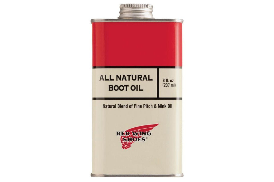 ALL NATURAL BOOT OIL ACCESSORIES RED WING SHOES ONE SIZE