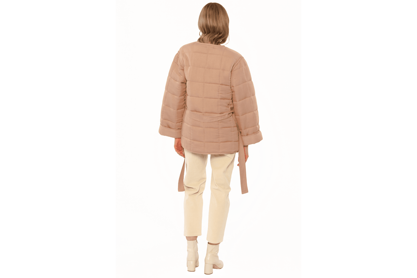 RILO QUILTED WOVEN JACKET-A702ORIL WOMENS SOFTGOODS AMUSE SOCIETY