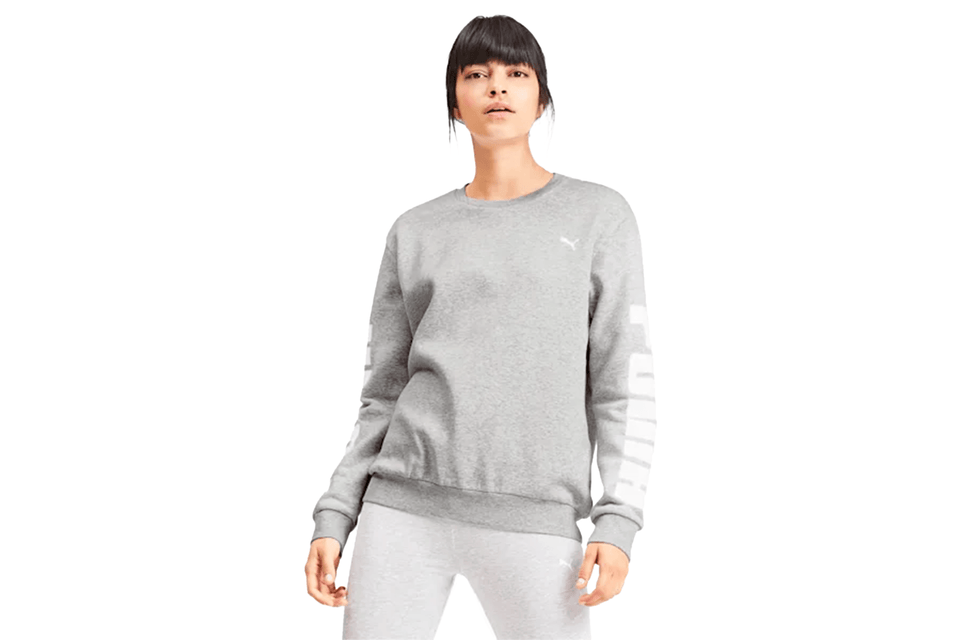 REBEL CREW SWEAT FL - 580511-04 WOMENS SOFTGOODS PUMA