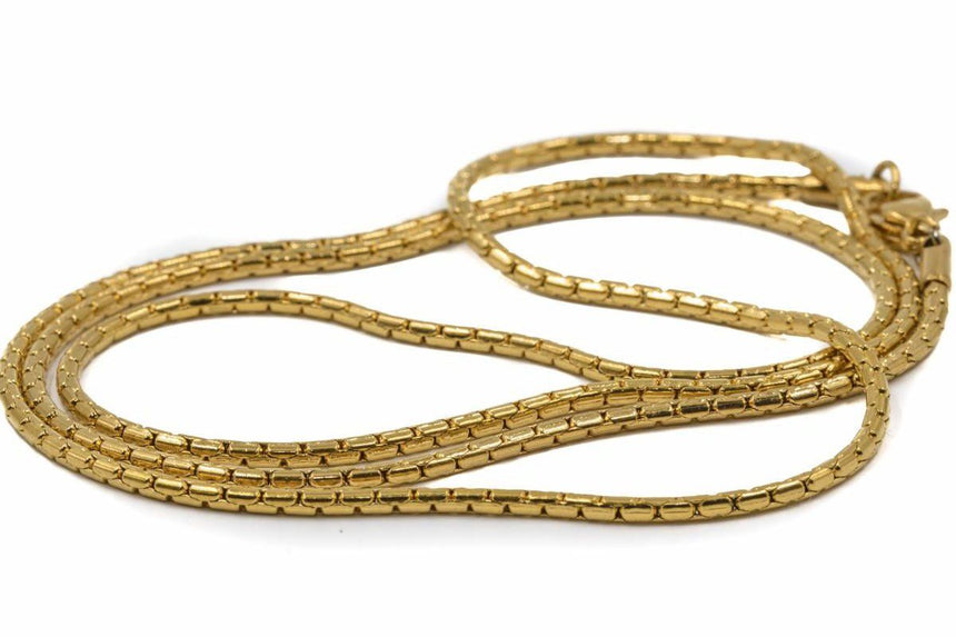 GOLD REPLACEMENT CHAIN JEWELRY GOLDEN GILT