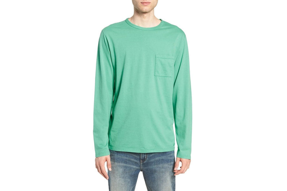 JAMES PIMA L/S TEE MENS SOFTGOODS SATURDAYS NYC