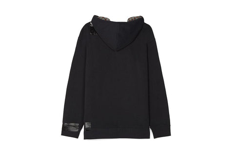 RS TAPE DETAIL HOODED SWEAT - SM4106