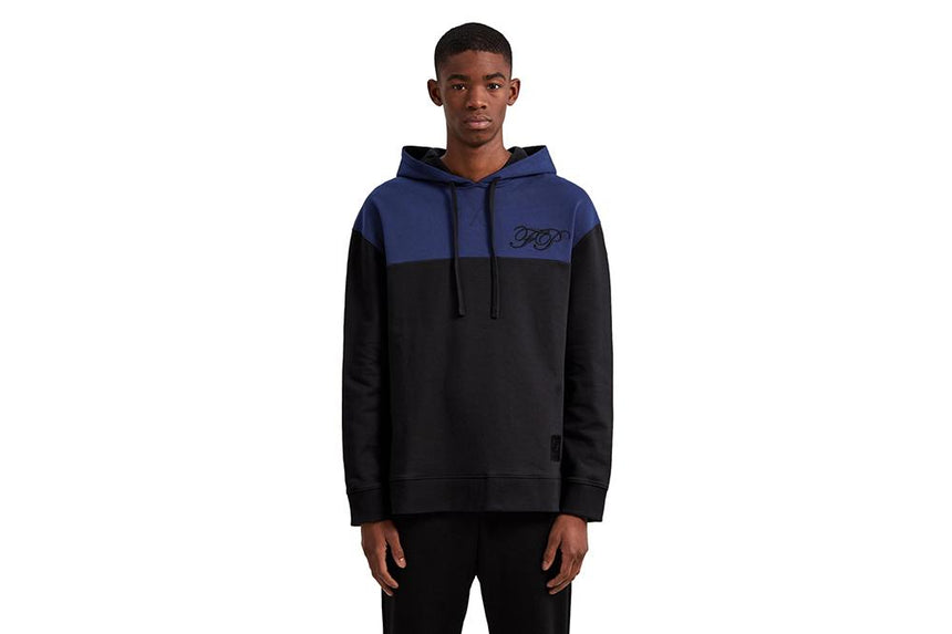 EMBROIDERED INITIAL HOODED SWEATSHIRT - SM5137 MENS SOFTGOODS FRED PERRY