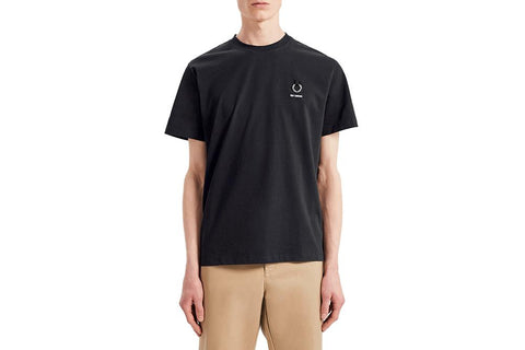 RAF SIMONS LAUREL DETAIL T-SHIRT - SM7059