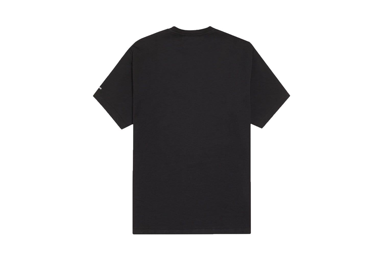 RAF PRINTED PANEL T-SHIRT - SM9040 MENS SOFTGOODS FRED PERRY
