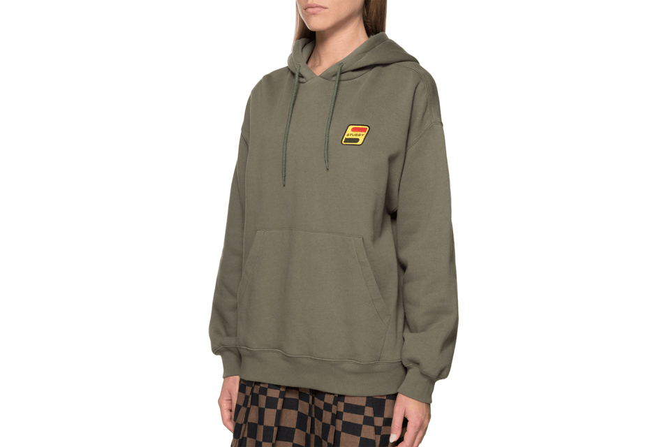 SPIRITS FLEECE HOODIE-218082 WOMENS SOFTGOODS STUSSY