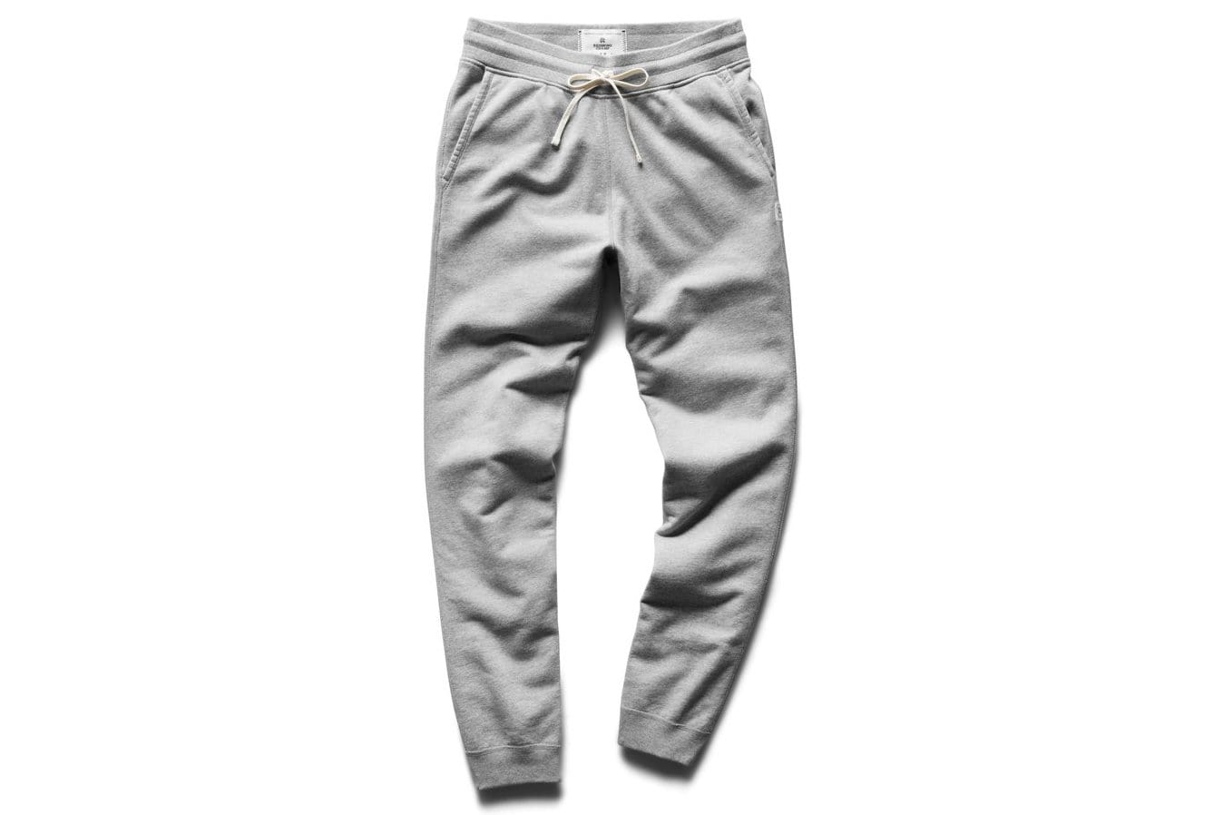 MID WT TERRY SLIM SWEATPANT H.GREY MENS SOFTGOODS REIGNING CHAMP H.GREY S RC-5075