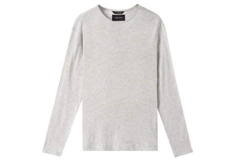 MENS KNIT LINEN JERSEY LONG SLEEVE