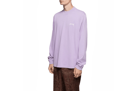 STOCK L/S CREW - 1140136 MENS SOFTGOODS STUSSY