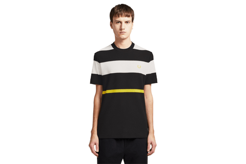 STRIPED T-SHIRT - M7603 MENS SOFTGOODS FRED PERRY