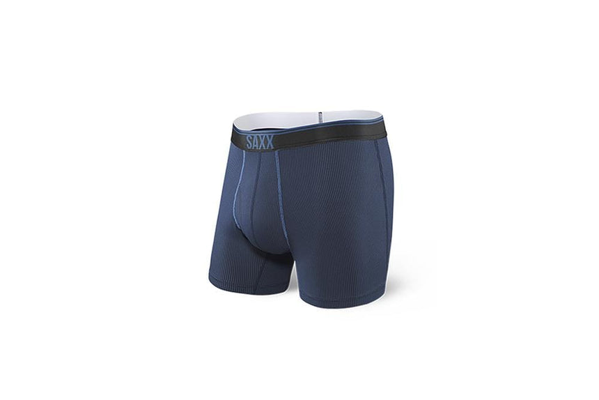 QUEST BOXER BRIEF FLY - SXBB70F - MNB MENS ACCESSORIES SAXX
