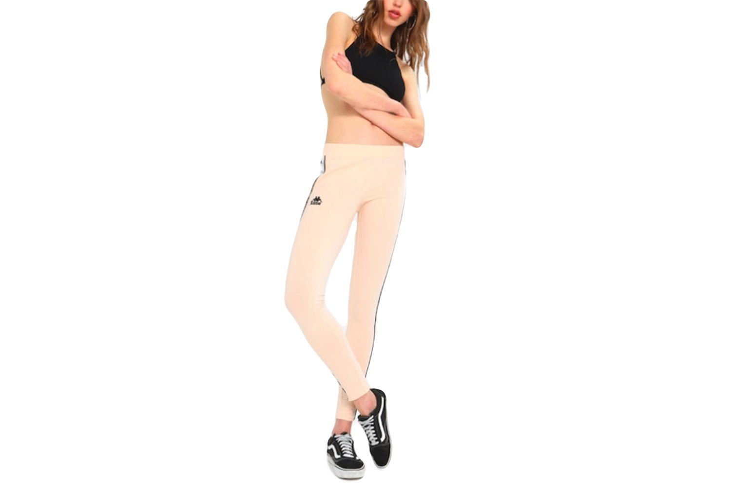 WOMENS AUTHENTIC ANEN LEGGINGS - 303WGJ0-W24 WOMENS SOFTGOODS KAPPA PINK XS