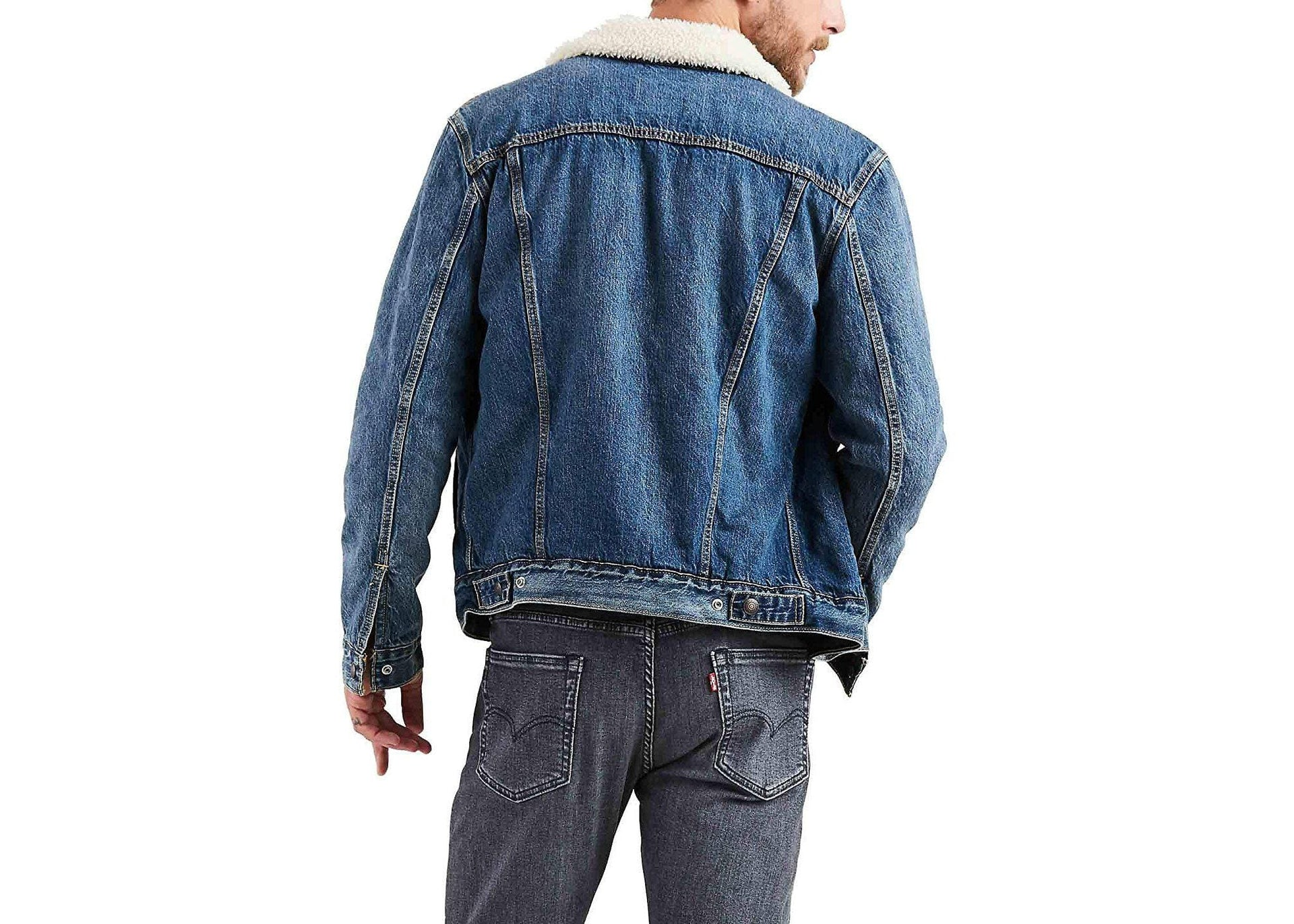 SHERPA TRUCKER JACKET MENS SOFTGOODS LEVIS