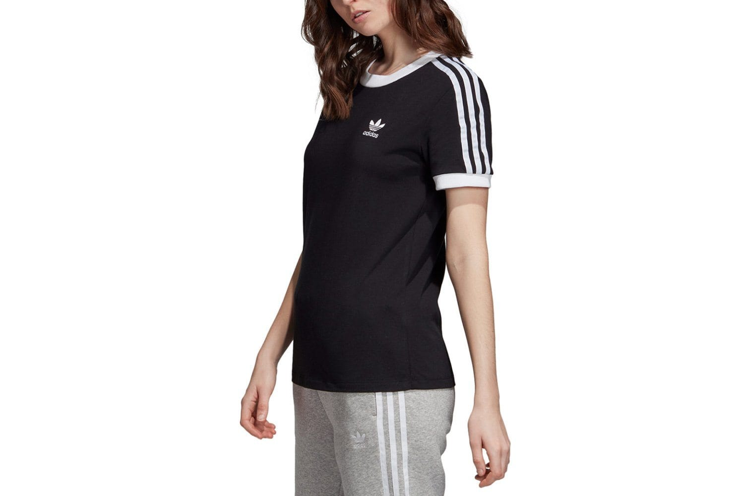 3 STRIPE TEE - ED7482 WOMENS SOFTGOODS ADIDAS