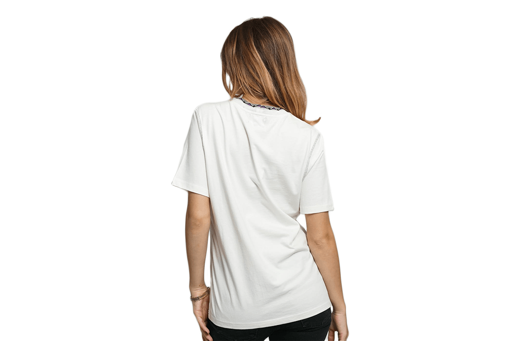CLARITA INSIDE OUT TEE - 214497 WOMENS SOFTGOODS STUSSY