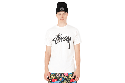 STOCK PIG.DYED TEE-1904442 MENS SOFTGOODS STUSSY