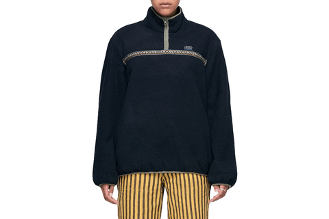 SUMMIT HALF ZIP POLAR FLEECE-218083 WOMENS SOFTGOODS STUSSY