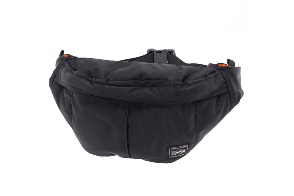 Black waist bag from Porter-Yoshida & Co.