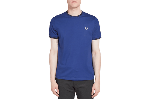TAPED SIDE T-SHIRT-M1588 MENS SOFTGOODS FRED PERRY